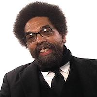Caption: Cornel West