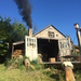 Caption: The Rogue Potters fire up the kiln on a summer evening., Credit: Xan Holston
