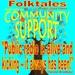 Caption: WBOI's Folktale of Community Support, Credit: Julia Meek