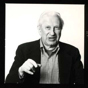 Caption: Studs Terkel