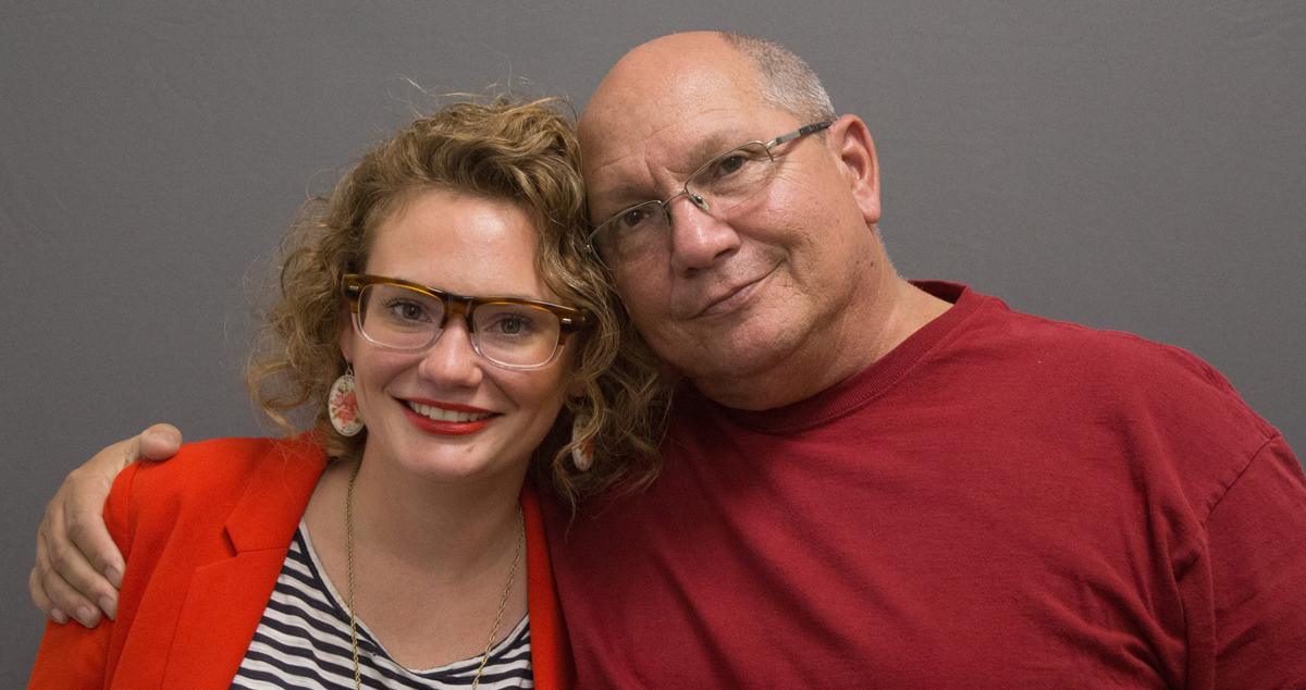 Caption: Jenn Stanley (left) and Peter Stanley (right)