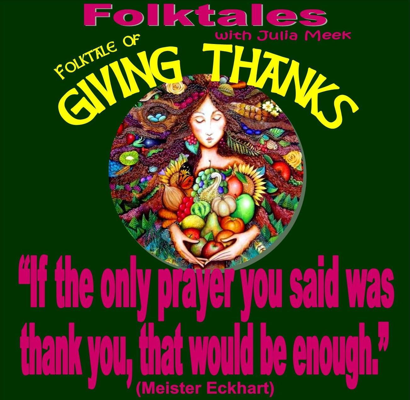 Caption: WBOI's Folktale of Giving Thanks, Credit: Julia Meek