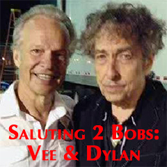 Caption: Bobby Vee & Bob Dylan