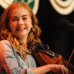 Caption: WoodSongs Kid Maisy Reliford.