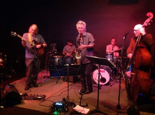 Caption: Kronick Quintet at Golden's Deli, Credit: George Tofoya