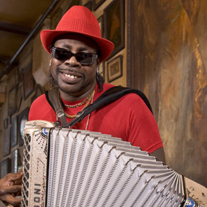 Caption: CJ Chenier