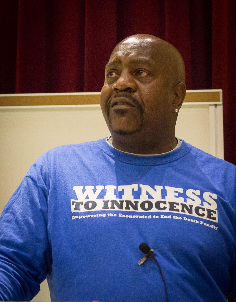 Caption: Nathson Fields spent almost 20 years in prison (12 on death row) for a crime he didn't commit, Credit: Lisa Johnson