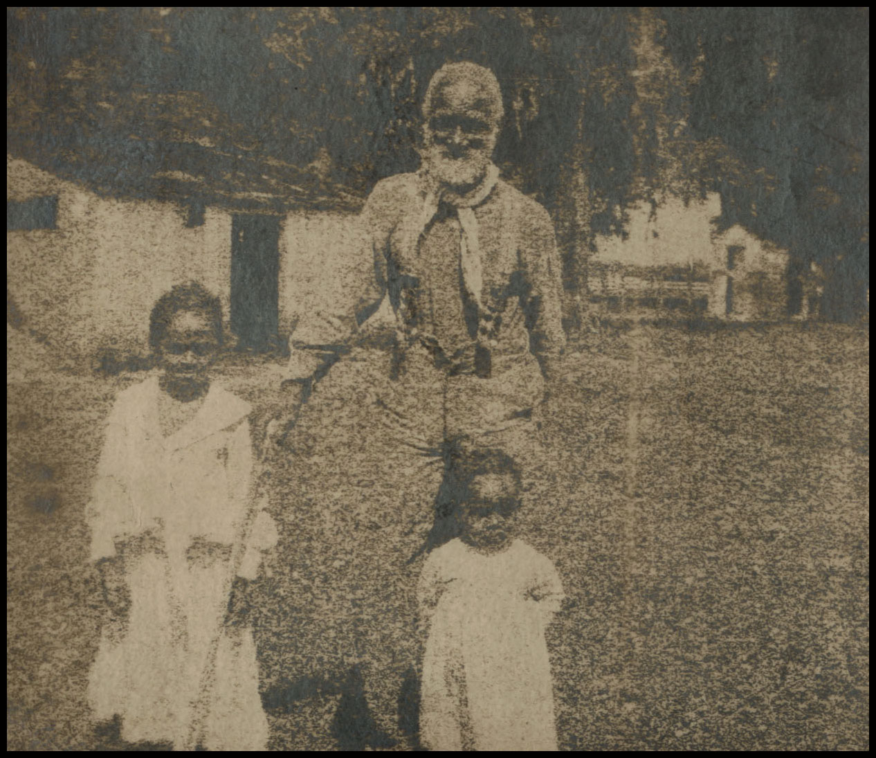 Caption: Frank Campbell was a teenager when he was sold to keep Georgetown University afloat. He was one of some 272 enslaved people sold by Jesuits in Maryland to plantations in Louisiana., Credit: Ellender Memorial Library, Nicholls State University