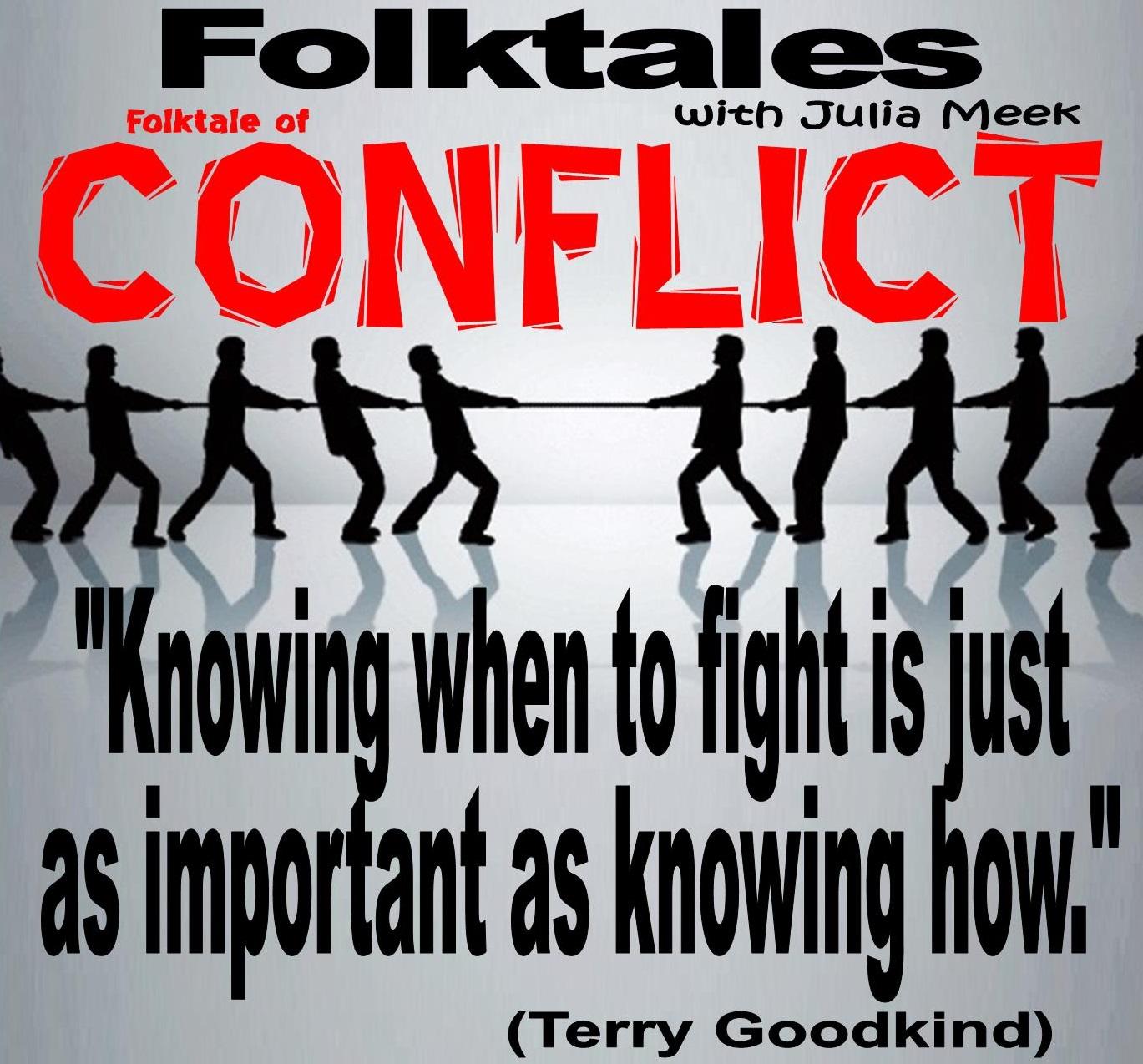 Caption: WBOI's Folktale of Conflict, Credit: Julia Meek
