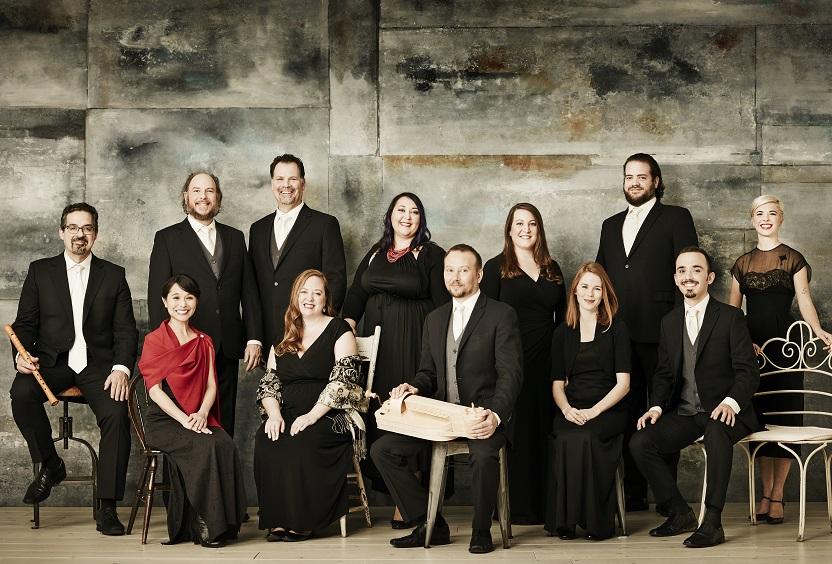 Caption: The Rose Ensemble, Credit: Michael Haug