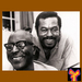 Caption: Perennial favorites Sonny Terry and Brownie McGhee. Photo by Keith Perry.