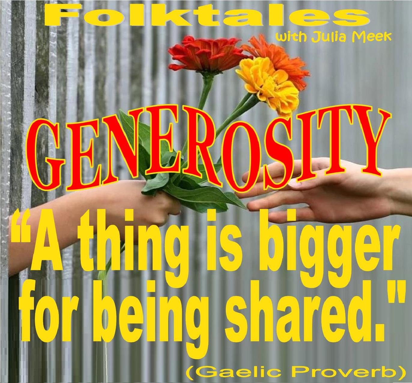 Caption: WBOI's Folktale of Generosity, Credit: Julia Meek