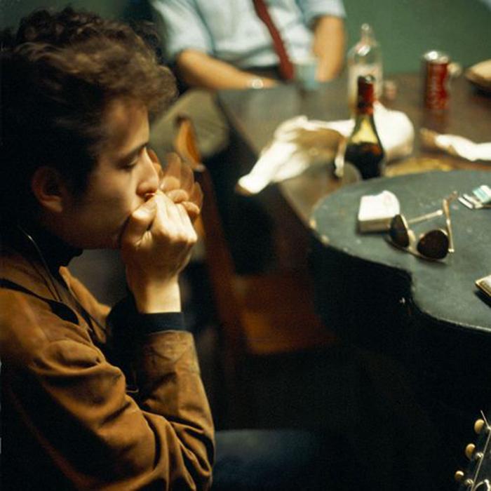 Caption: Bob Dylan