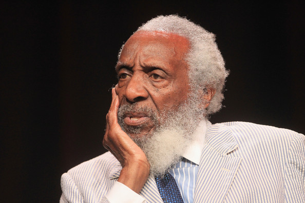 Caption: Dick Gregory