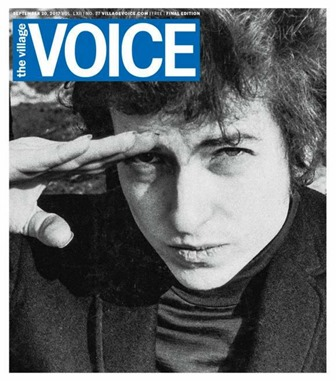 Caption: Goodbye Village Voice