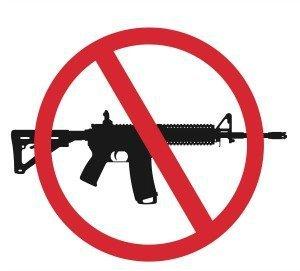 Caption: No More AR-15s