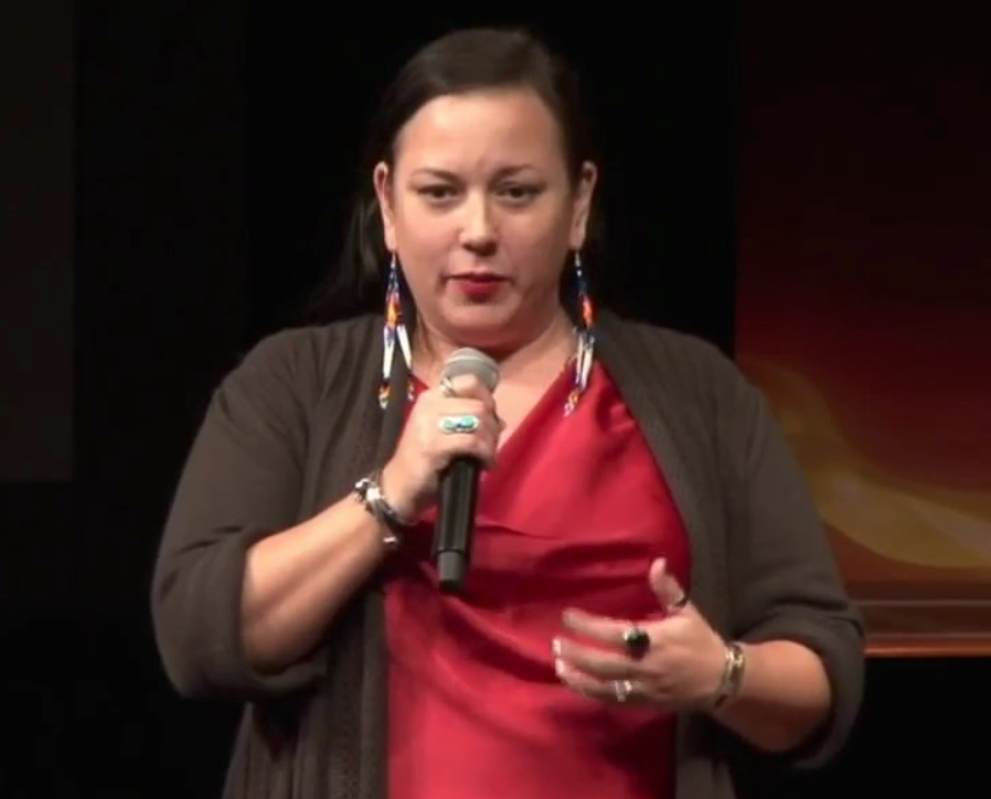 Caption: Patina Park is the Executive Director of the MN Indian Women's Resource Center., Credit: youtube.com