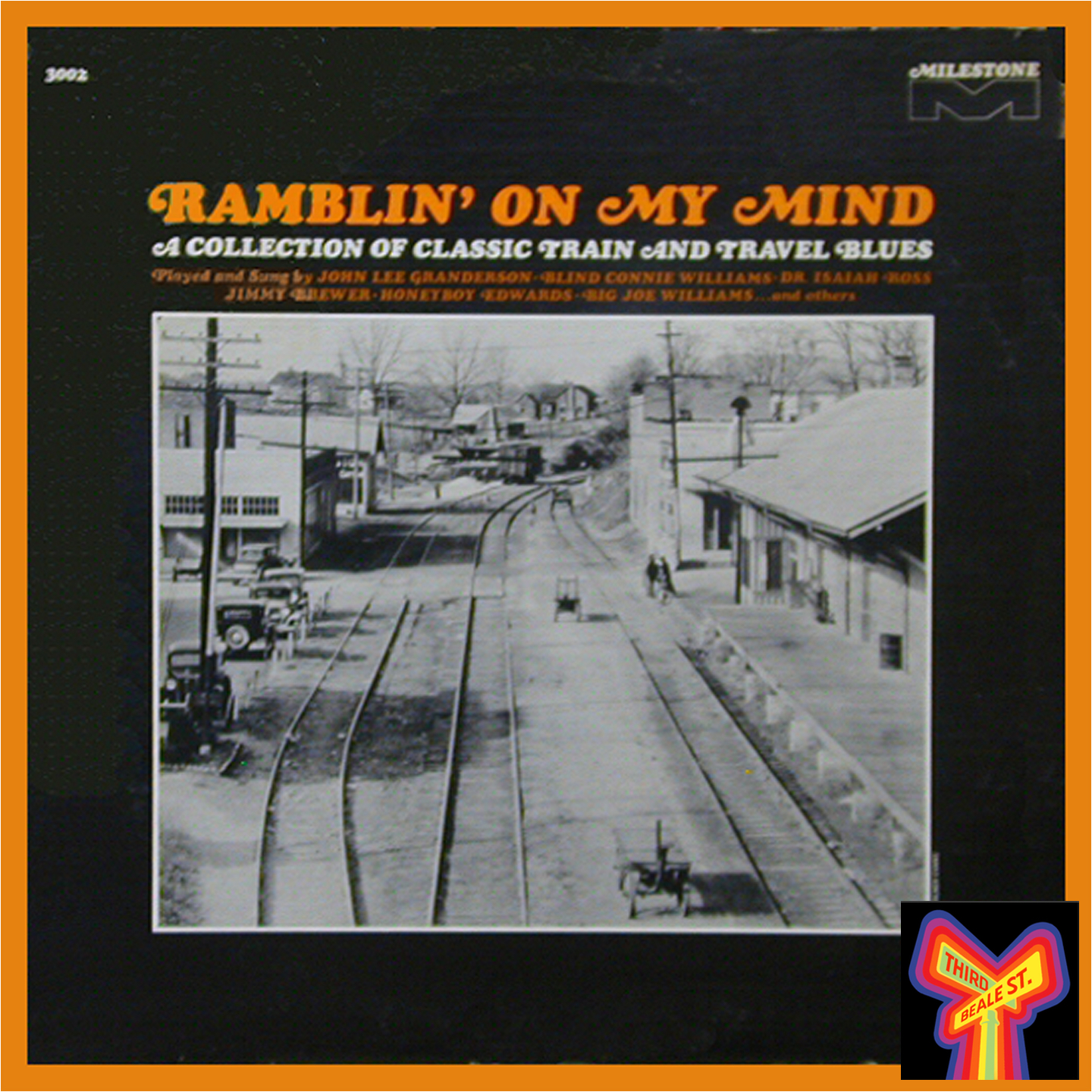 """Caption: Issued in 1965, """"Ramblin' On My Mind"""" never quite made it to the digital age. It's one of our favorites from the 1960s Blues Revival."""