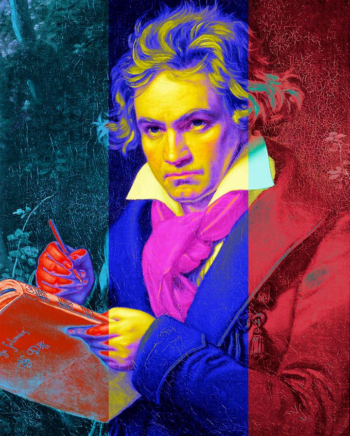 Caption: Ludwig van Beethoven, Credit: Josef Karl/Greg Firlotte