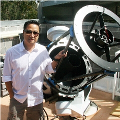 Caption: Australian astronomer Julian Oey has just been awarded a second Shoemaker Near Earth Object grant., Credit: Blue Mountains Observatory