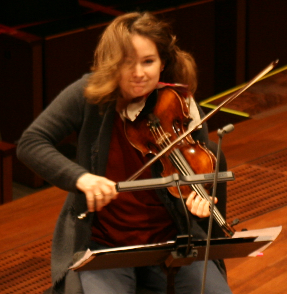 Caption: Patricia Kopatchinskaja, Credit: Ryan Dawes