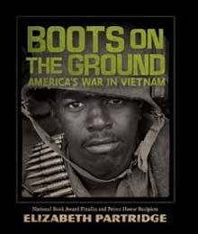 Caption: Boots on the Ground jacket cover, Credit: John Dittman, Stars & Strips