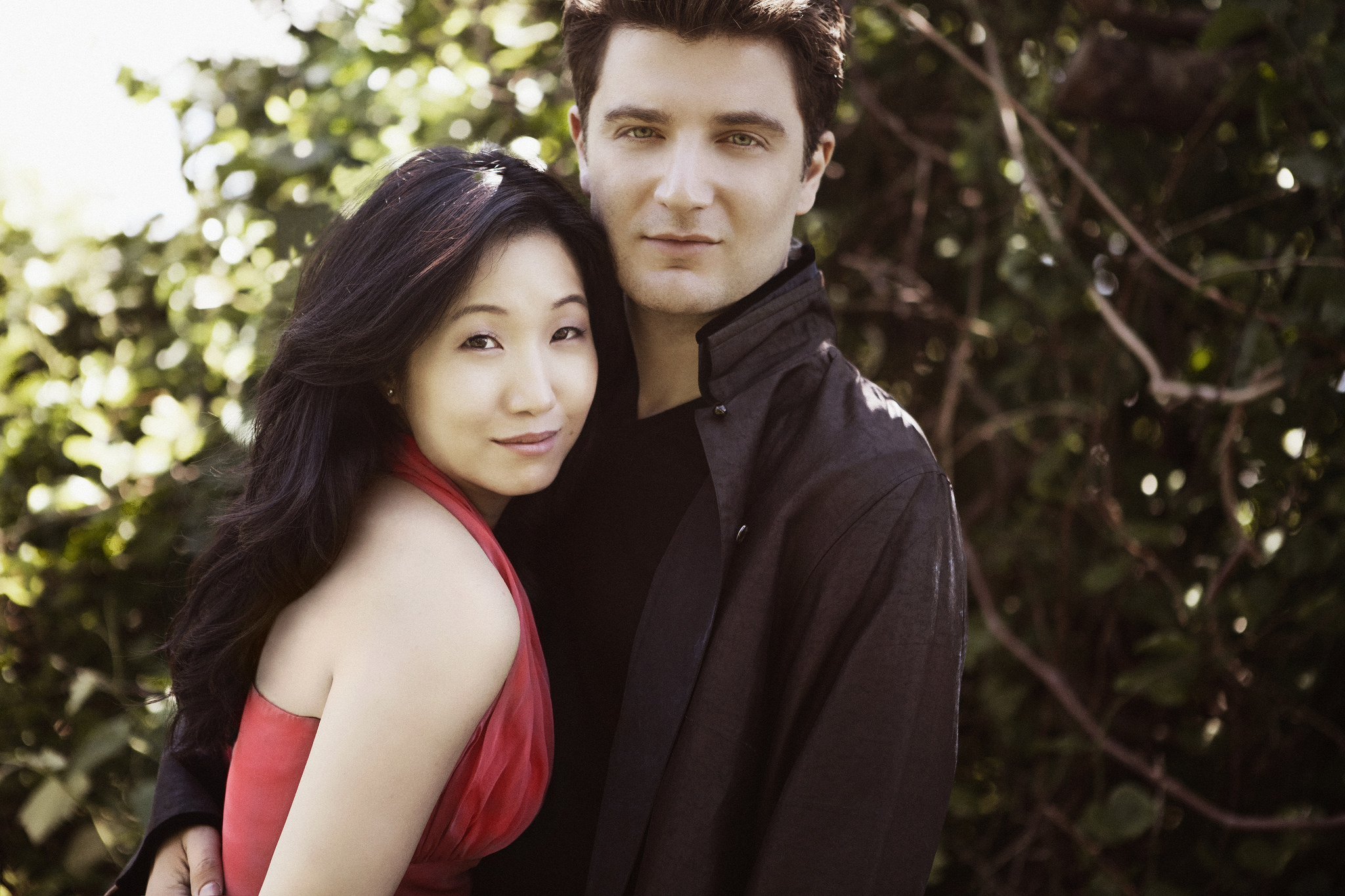 Caption: Lucille Chung and Alessio Bax, Credit: courtesy of the artists