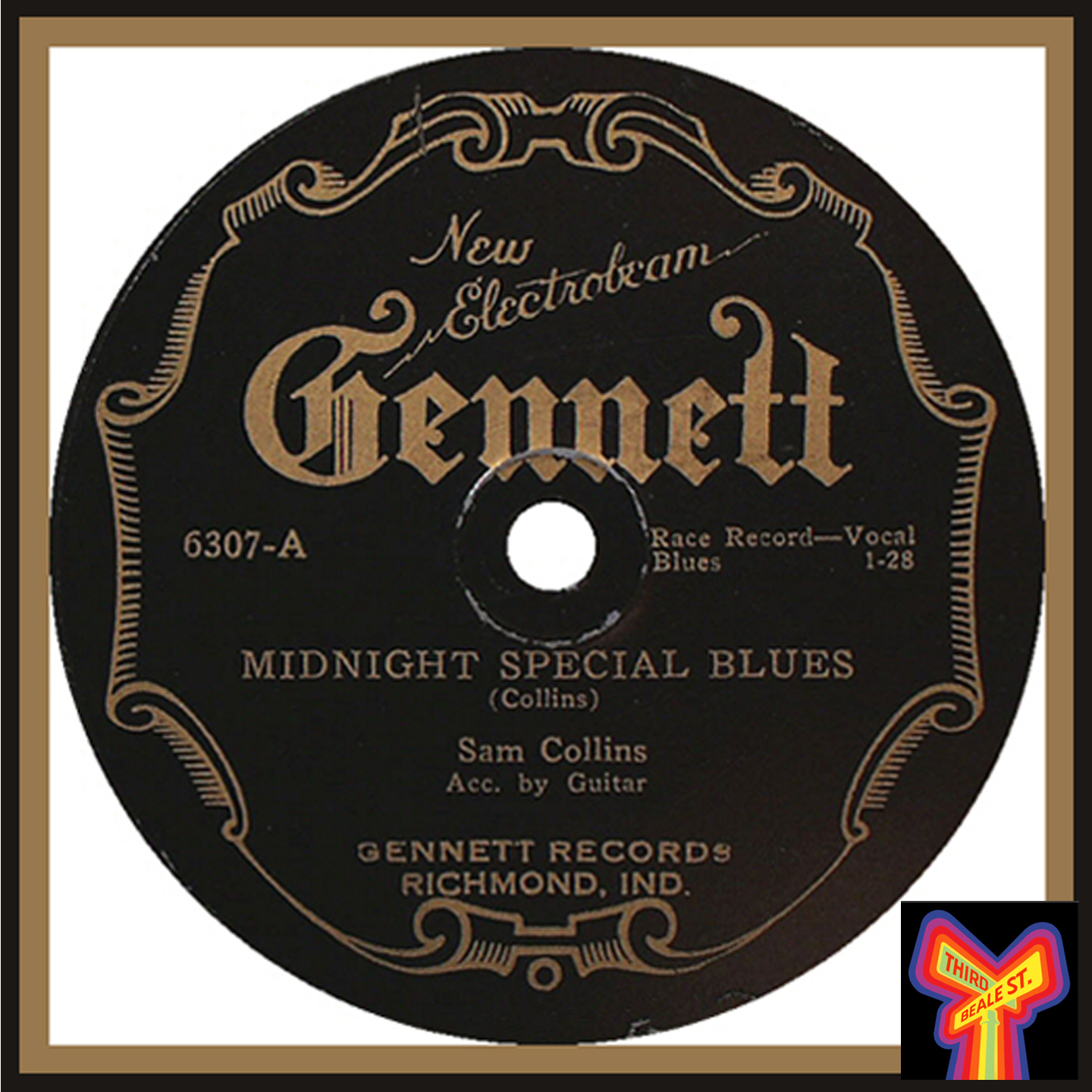 """Caption: From 1927, """"The Midnight Special"""" by Crying Sam Collins; the first known version of this enduring favorite to be recorded by a blues artist."""