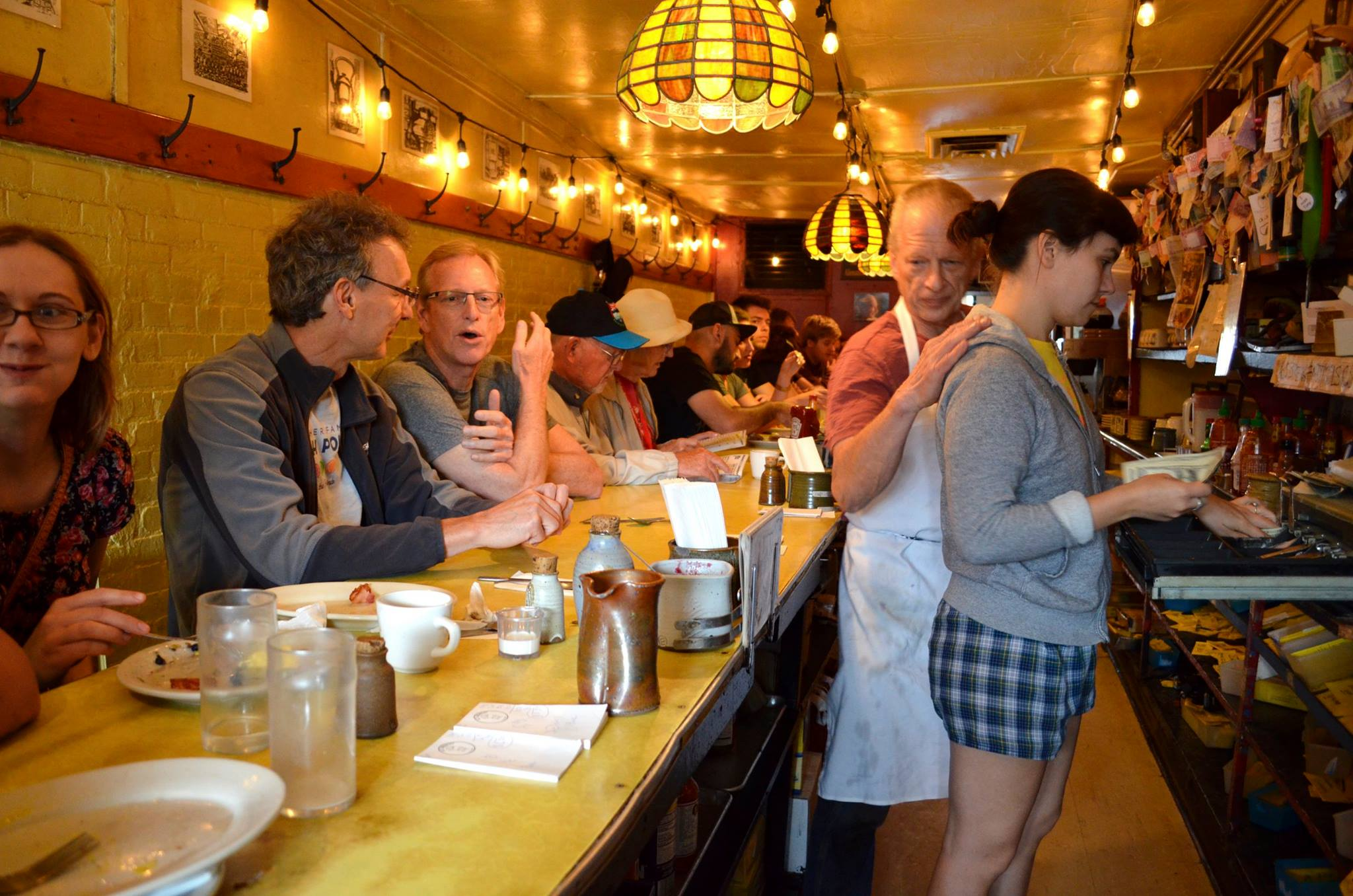 Caption: Al's Diner in Dinkytown, Minneapolis, USA., Credit: Todd Melby