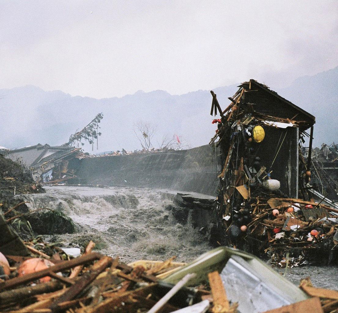 Caption: March 11, 2011 In Otsuchi, Japan following the 9.0 earthquake and devastating Tsunami, Credit: Tarah Millen/Marine Photobank
