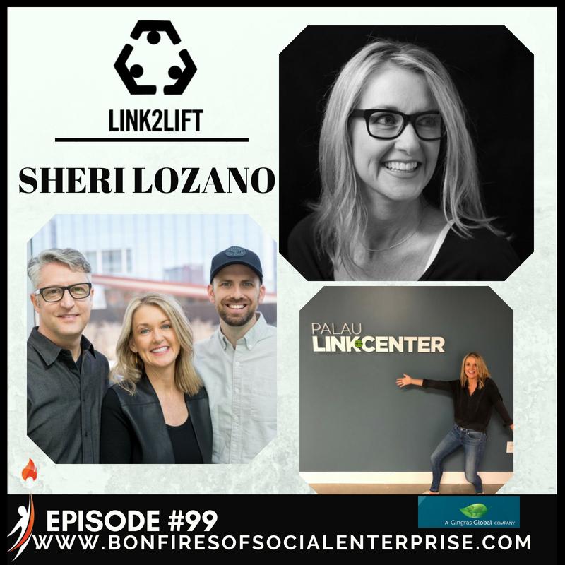 Caption: Sheri Lozano of Link2Lift