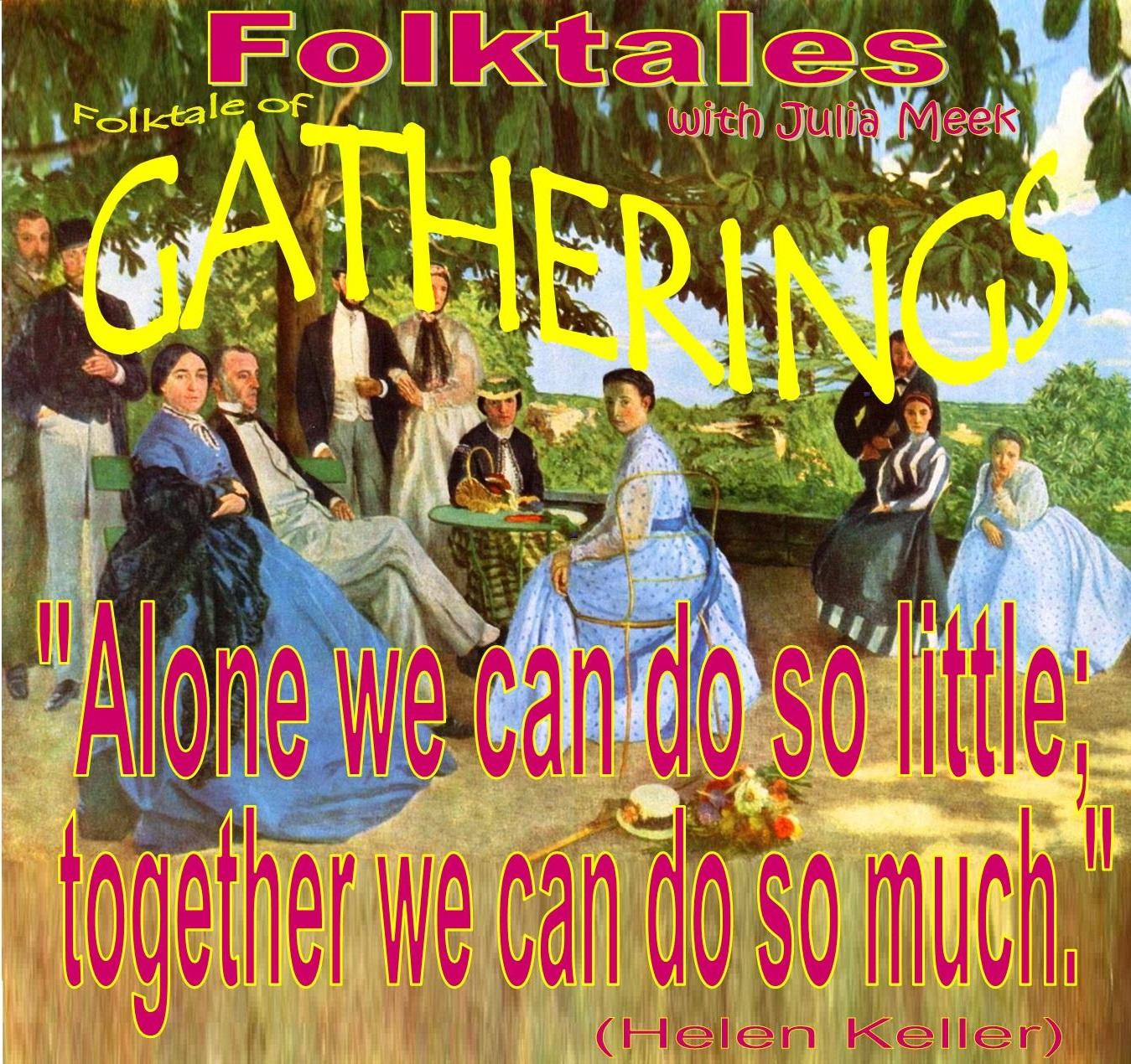Caption: WBOI's Folktale of Gatherings, Credit: Julia Meek