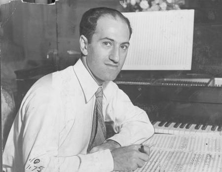 Caption: George Gershwin