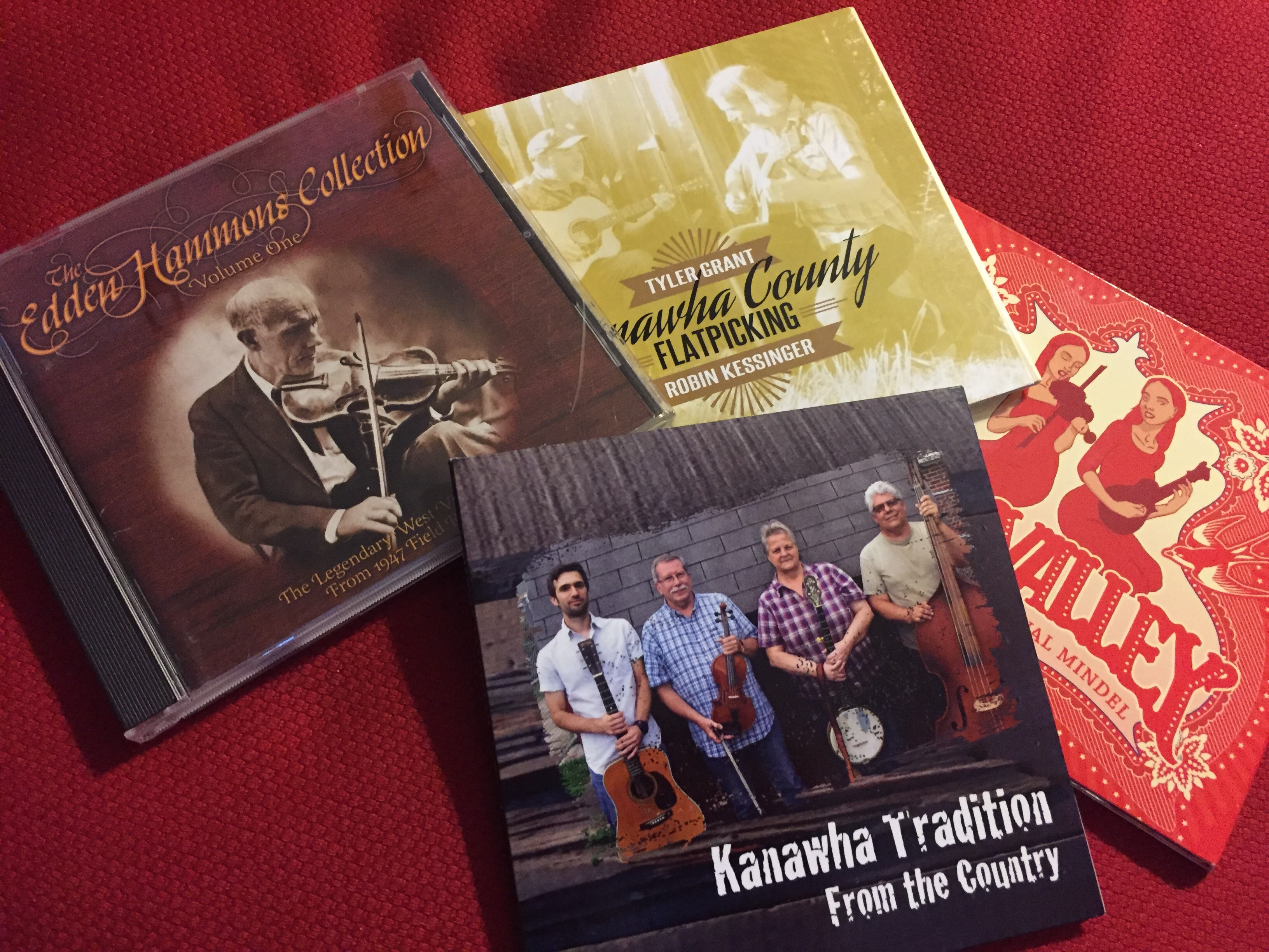 Caption: Music with West Virginia connections features in this week's show – from antique fiddle tunes to duet singing to a new flatpicking guitar album from Robin Kessinger and Tyler Grant.  , Credit: Paul Brown