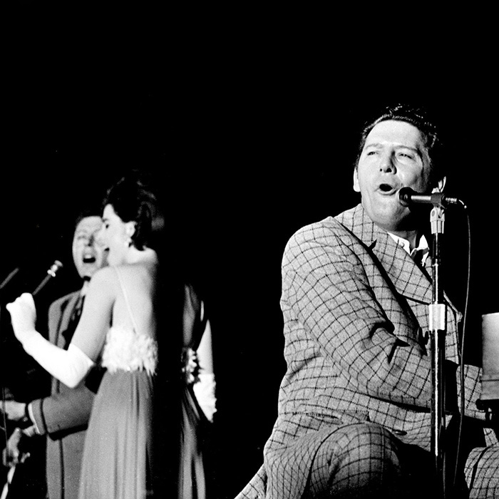 Caption: Jerry Lee and Linda Gail Lewis