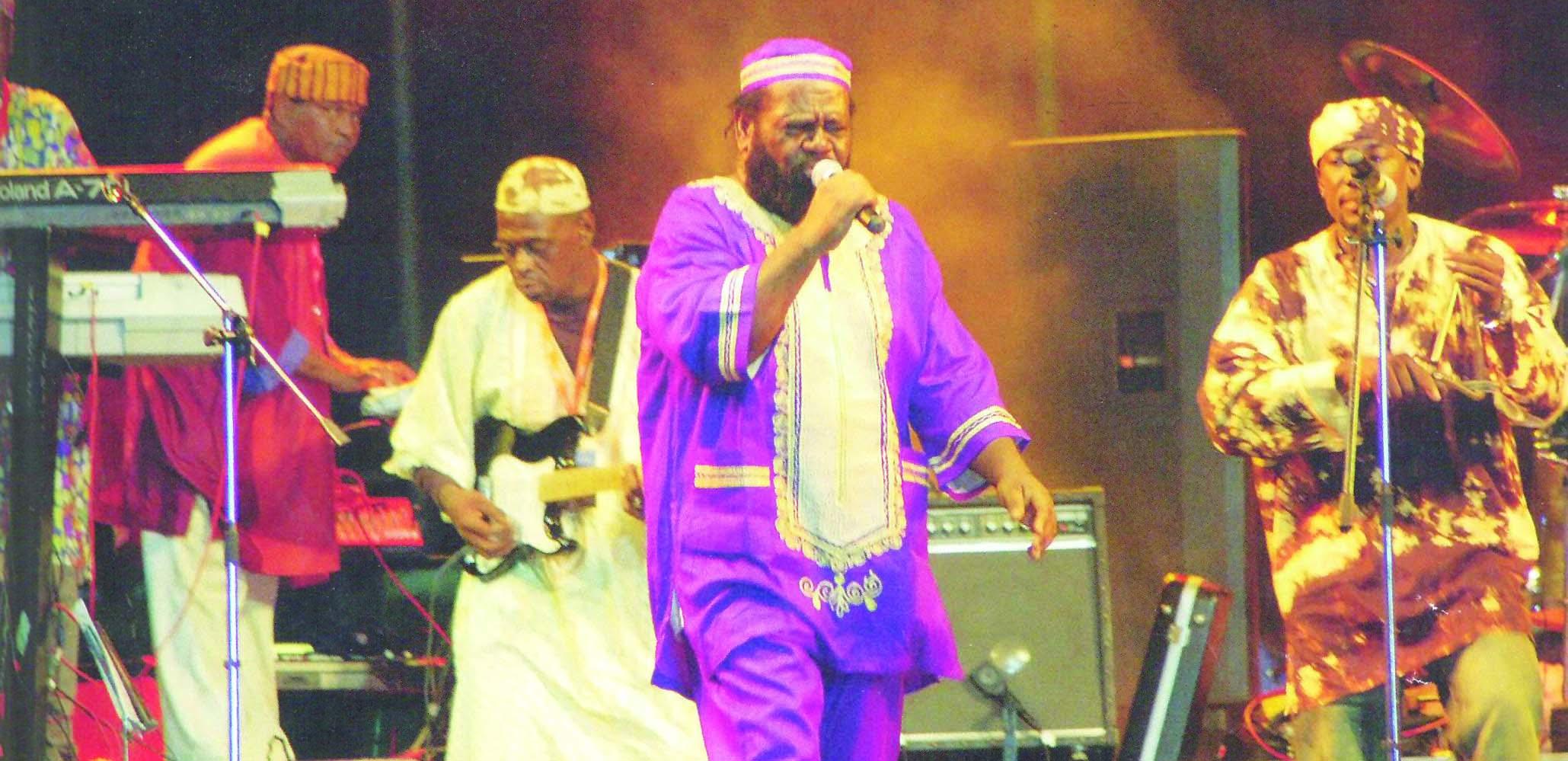 Caption: The Yoruba Singers