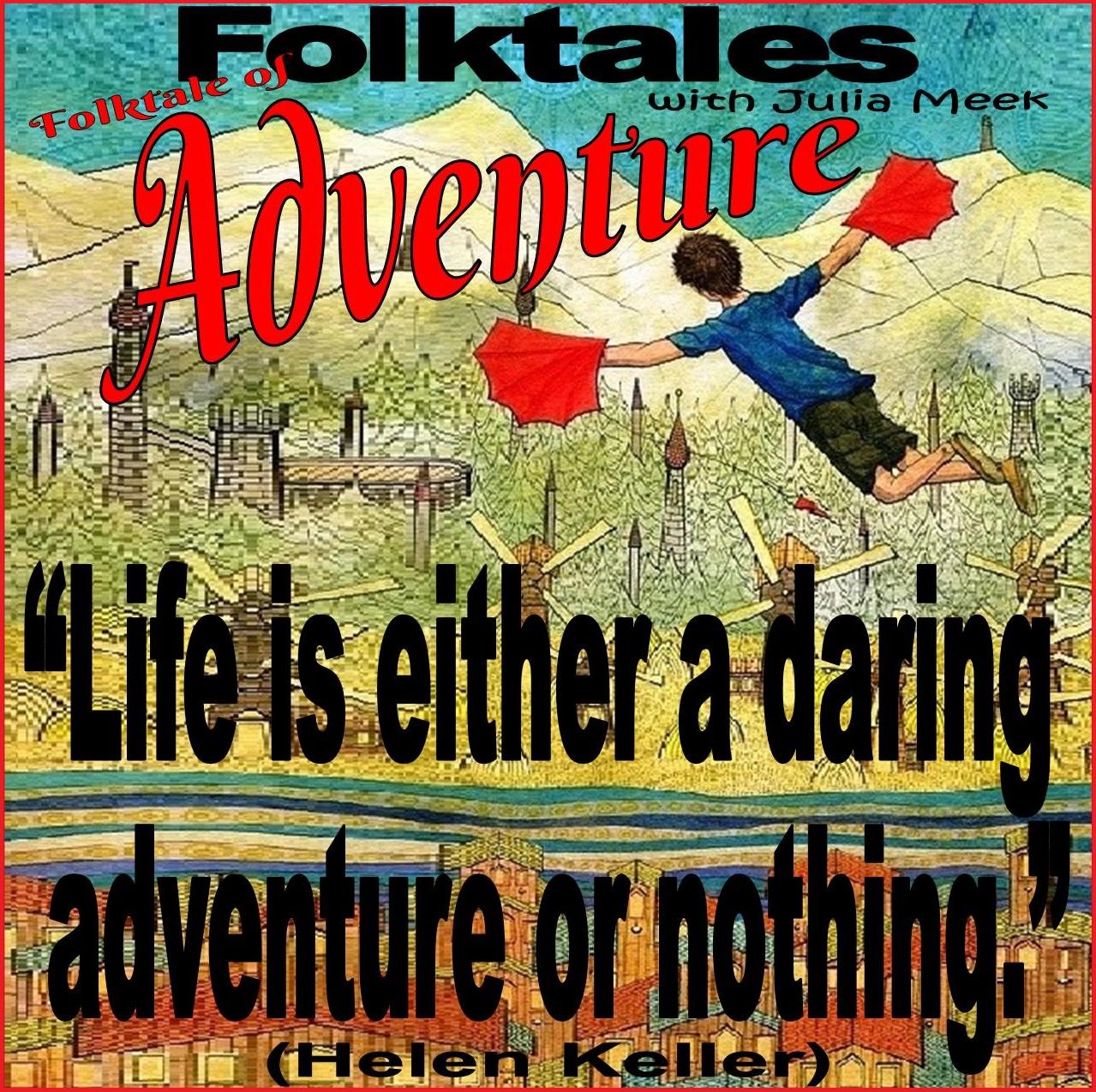 Caption: WBOI's Folktale of Adventure, Credit: Julia Meek