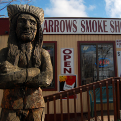 Indian Smoke Shop >> Prx Piece Cigarette Losers Native Americans Who Don T