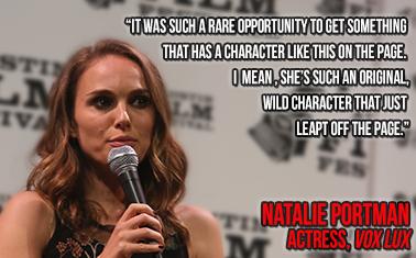 Caption: actress, Natalie Portman