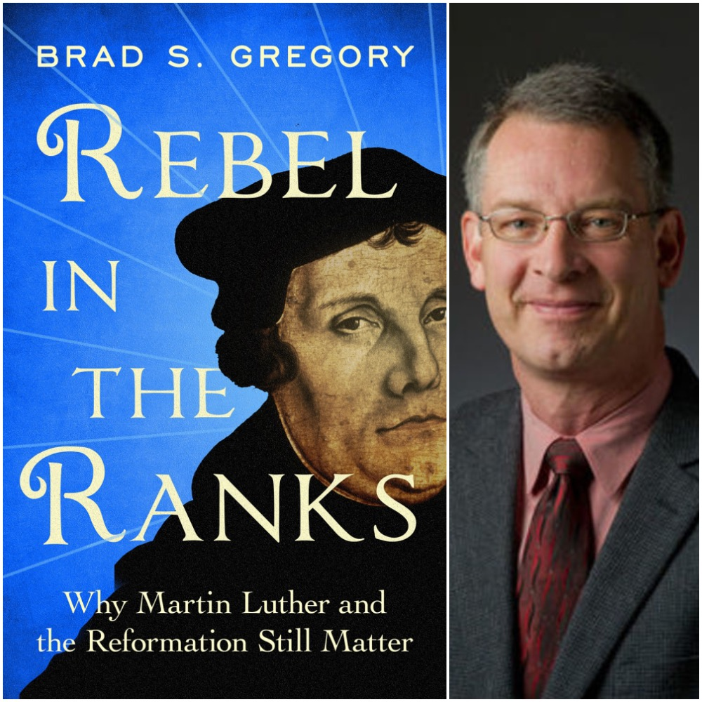 Caption: Dr. Brad Gregory