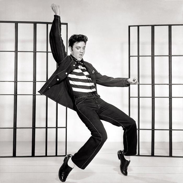 Caption: Elvis Presley