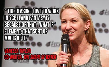 Caption: writer, Vanessa Taylor