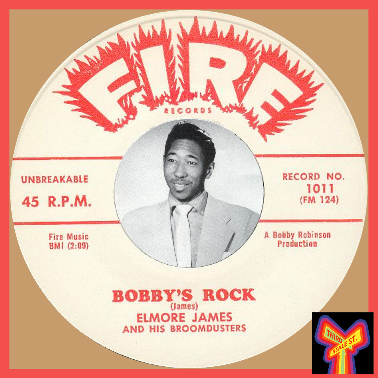 Caption: Independent producer Bobby Robinson, pictured with just one of his many productions.