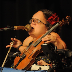 Caption: The extraordinary music and story of Gaelynn Lea.