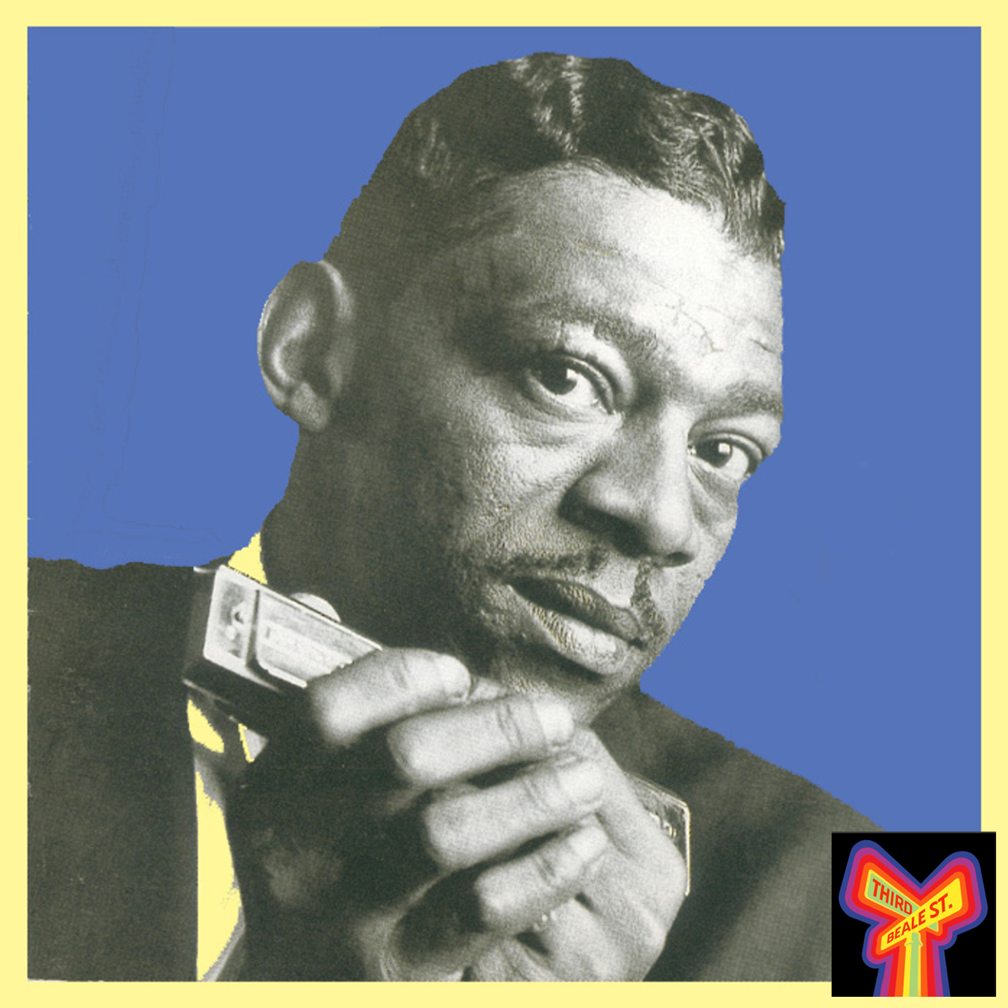 Caption: Little Walter, the King of Chicago Blues Harmonica.