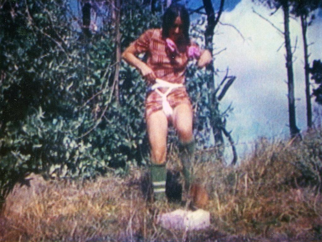 """Caption: A still from Barbara Hammer's """"Menses"""" (1974)"""