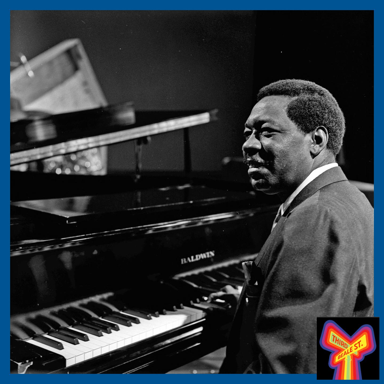 Caption: Keyboard legend, Otis Spann.