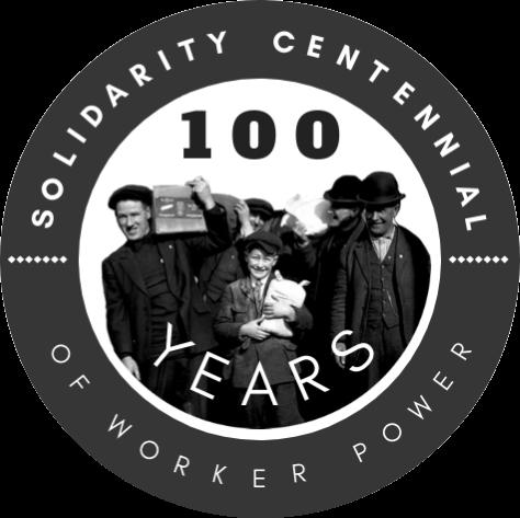 Caption: Seattle General Strike Solidarity Centennial