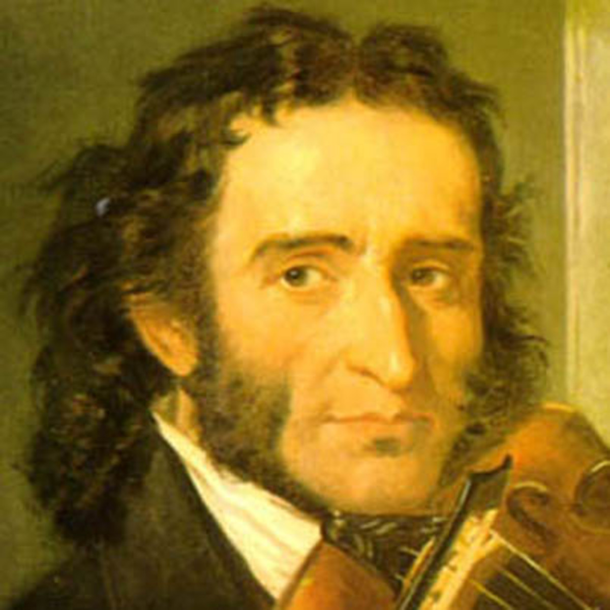 Caption: Nicolo Paganini