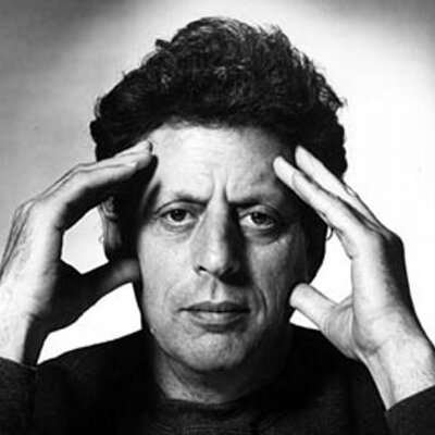 Caption: Philip Glass, Credit: Philip Glass